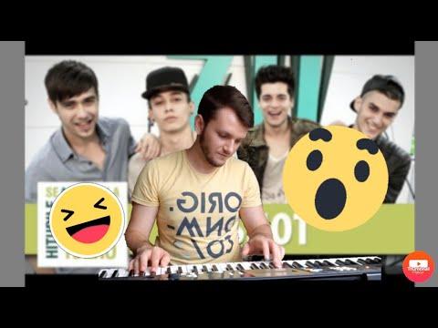 SHOT - Buza de jos | Karaoke | Piano