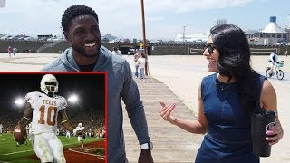 What Reggie Bush Thinks of Vince Young Now — Wine Walk with Liz Gonzales