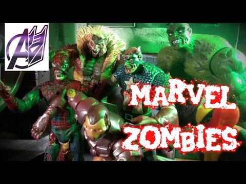 Marvel Zombies (HALLOWEEN SPECIAL) [Stop motion Film]