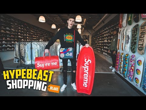 Hypebeast Shopping For Expensive Supreme