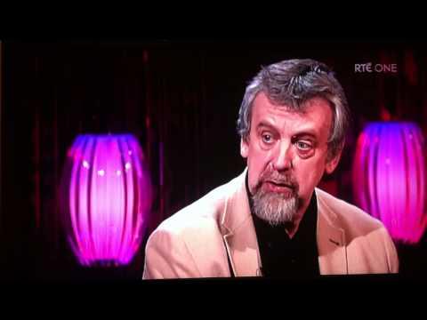 Michael Harding on Saturday Night Show