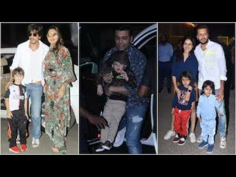 Aaradhya Bachchan GRAND Birthday Party | Srk with AbRam, Karan Johar With Kids Roohi, Yash and more