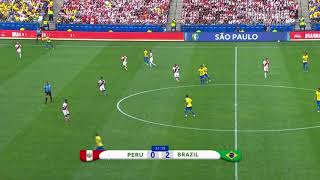 Grupo de Estudio Técnico - Copa América 2019 - GOLES Grupo A