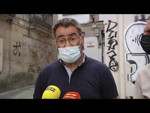 El BNG preguntará en el pleno de la Diputación por el edificio en ruinas de la calle Monterrei 23/07/2021