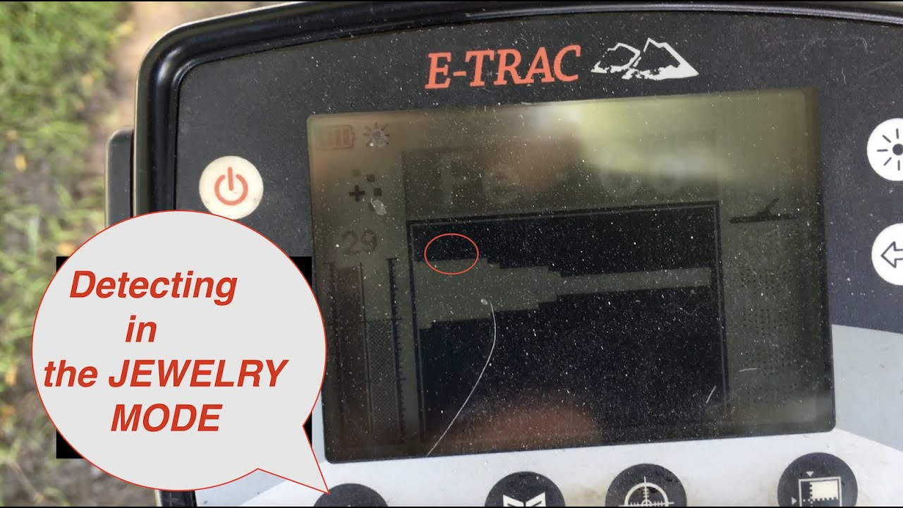 Metal Detecting in Jewelry Mode with E-Trac, from Tesoro Compadre 18_16