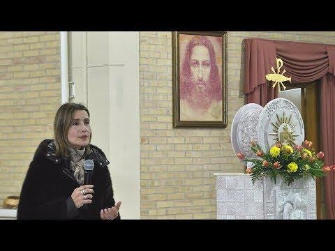 Chieti - Claudia koll testimonianza di una conversione Chiesa San Francesco Caracciolo