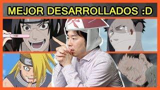 Naruto: Los 7 Personajes MEJOR ESCRITOS de Naruto Shippuden
