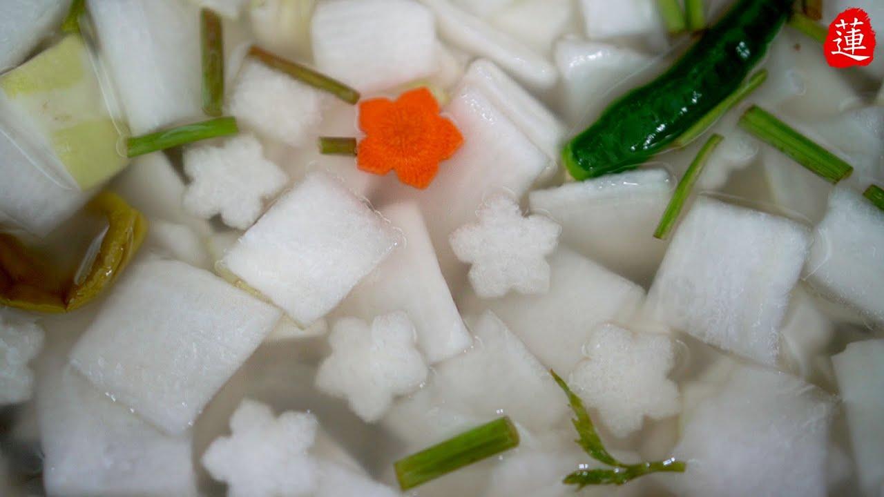 [여름동치미] 맛없는 여름무로 이렇게 시원한 맛이~? 너무 시원해서 물 대신 먹고 있어요 ㅎㅎ 여름물김치.