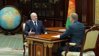 Президент принял с докладом Председателя Следственного комитета Беларуси