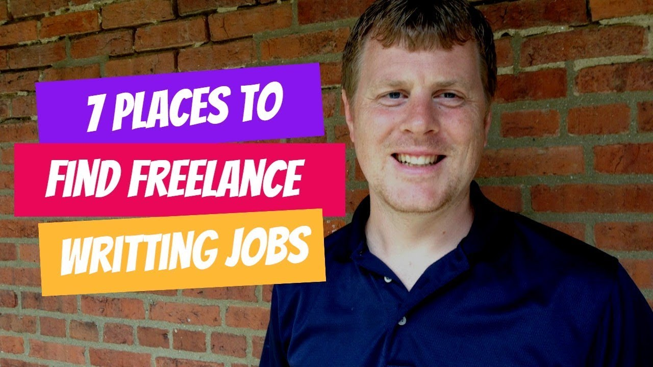 7 Places to Find Freelance Writing Jobs