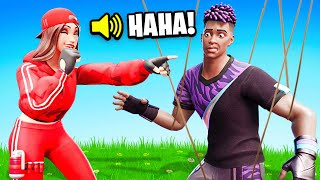 I Said YES to My GIRLFRIEND for 24 Hours! (Fortnite)