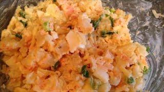 Кулинарный рецепт Рыбный Салат из лосося