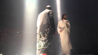 Video BLASPHEMY-Kanye West Brings out Jesus Christ on stage during  Yeezus  Tour In Seattle 2013 !!! download MP3, 3GP, MP4, WEBM, AVI, FLV Agustus 2018