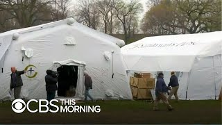 New York's Central Park to house coronavirus field hospitals