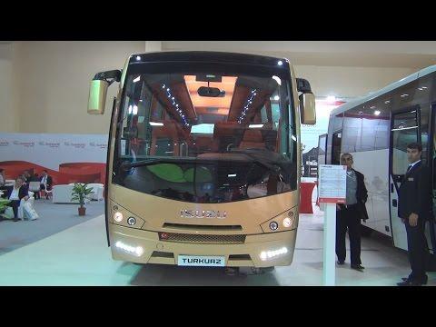 Isuzu Turkuaz 4HK1E6C Bus (2016) Exterior and Interior in 3D