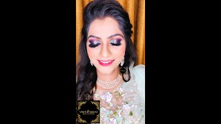 BEAUTIFUL ENGAGEMENT BRIDE \ MINT GREEN CUT CREASE LOOK / INTERNATIONAL MAKEUP/ VY_MAKEOVER