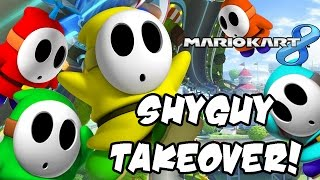 Mario Kart 8 DLC Gameplay - NEW Shyguy Colors!! (1080p Wii U)