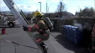 Ladder Bail Out training technique