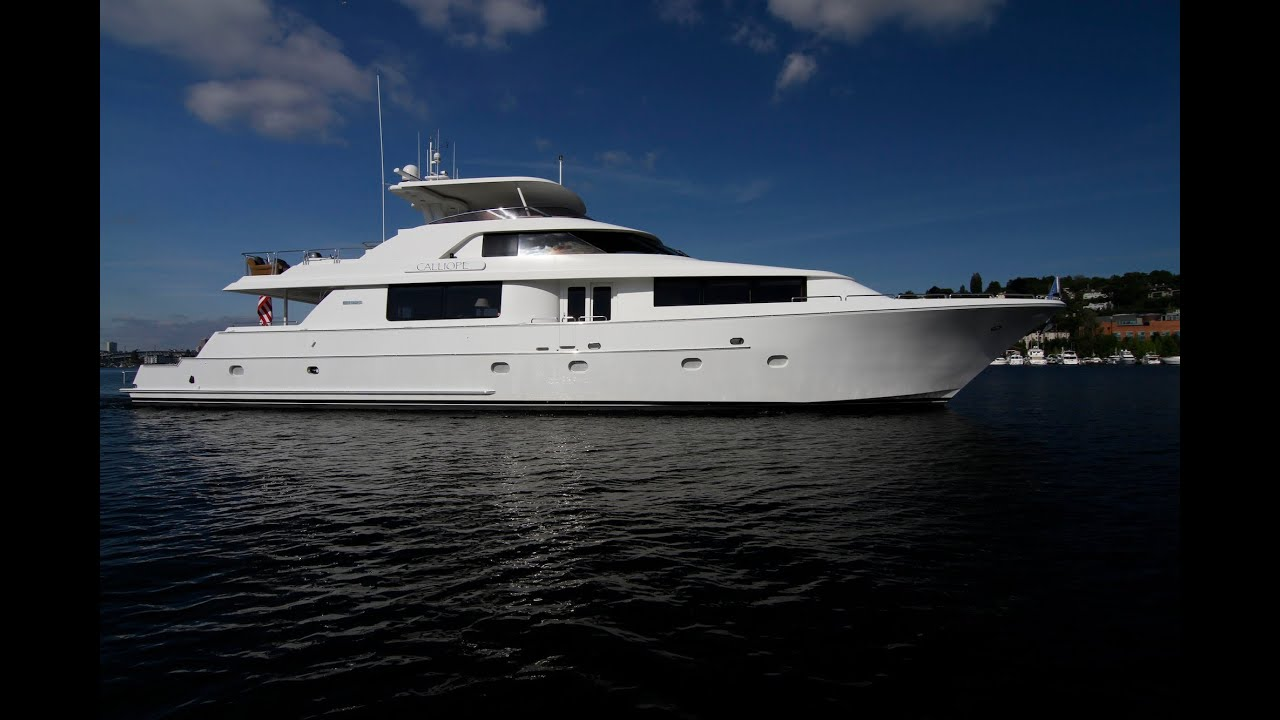 106' Westport Motor Yacht for sale  Offered at $3,495,000  SOLD