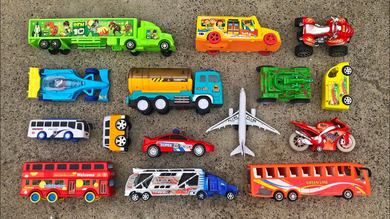Finding different types of toy vehicles on the roof of Dhaka City by PlayToyTime TV