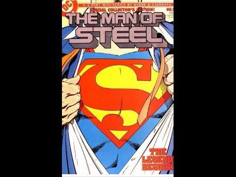 John Byrne Superman Man of Steel | The Comic Vault | Part 1 of 3