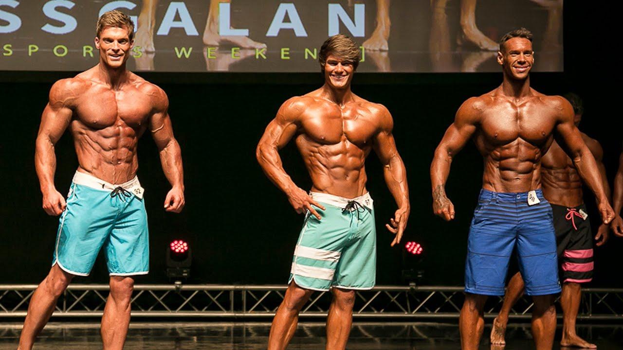 Top 3 Men`s Physique Stockholm Pro