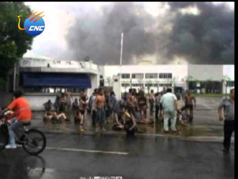 East China Factory Blast Kills 65