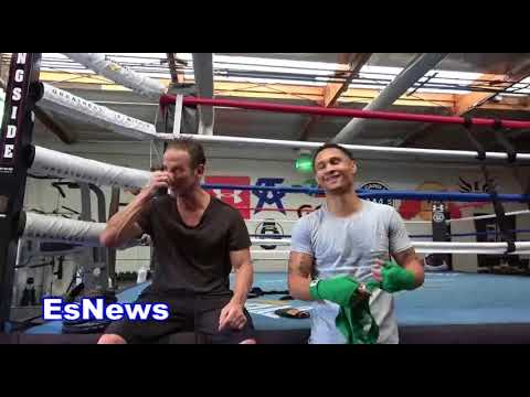 Regis Prograis & Peter Berg On The Levels Of Boxing Stars Have To Go Where Angels Wont Go