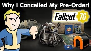 FALLOUT 76 Why I Cancelled My Pre-Order! IT SUCKS!
