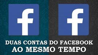 Como usar duas contas do Facebook no mesmo celular