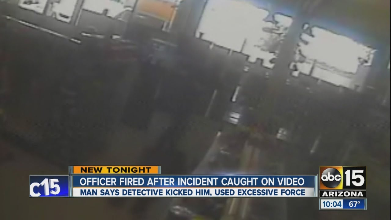 Officer fired after incident caught on video