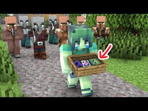 Monster School : Villagers Hate Zombie - Sad Story - Minecraft Animation