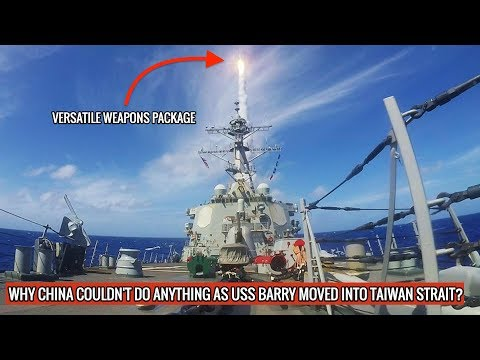 USS BARRY OF U.S NAVY SAILS THROUGH TAIWAN STRAIT UNCHALLENGED IN SUPPORT OF TAIWAN!