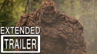 Fantastic Four Extended Trailer Official w/ Deadpool Tease
