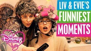 DISNEY CHANNEL VLOG | LIV & EVIE'S FUNNIEST MOMENTS | Official Disney Channel UK