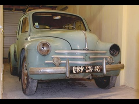 Restoration of a 1958 Renault 4cv Sport (part 1): another textbook restoration