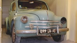 Restoration of a 1958 Renault 4cv Sport (part 1): another textbook restoration