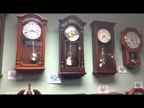 McGuires Clocks Store Walk Through