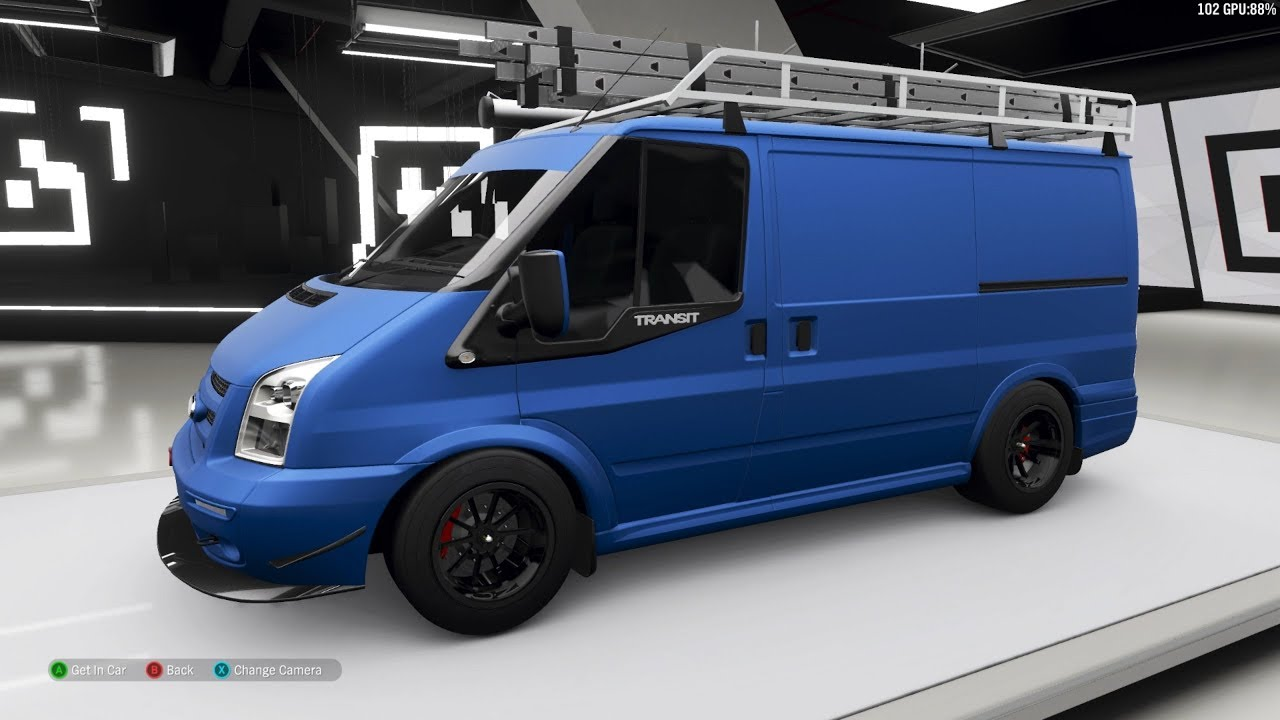 Forza Horizon 4 2011 Ford Transit Supersportvan Forza Edition Customize And Drive Youtube