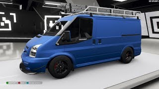 Forza Horizon 4 - 2011 Ford Transit Supersportvan Forza Edition - Customize and Drive