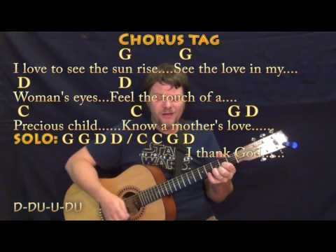Chicken Fried (Zac Brown) Guitar Cover Lesson in G with Chords/Lyrics - Munson