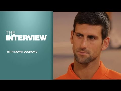 Exclusive interview of ATP world number one Novak Djokovic on FRANCE24
