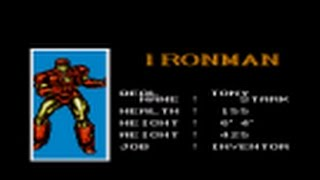 Captain America and the Avengers (USA) Ironman (Tony Stark)-SNES Playthrough