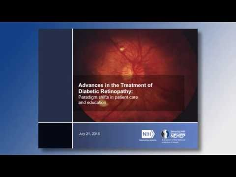 Webinar: Advances in the treatment of diabetic retinopathy