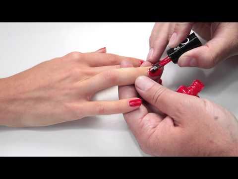 60 Seconds Super Shine Top Nail Tips   Rimmel London - YouTube