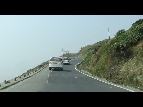 NJP to Darjeeling by Car via Rohini Road - Full Video