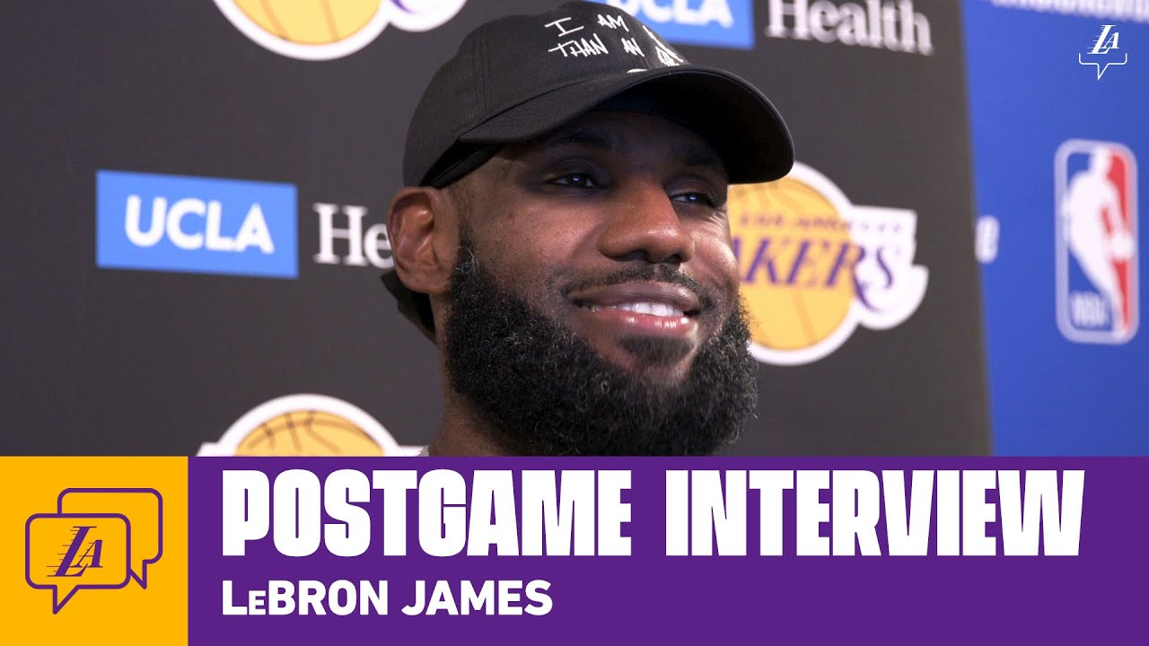 Lakers Postgame: LeBron James (8/3/20)