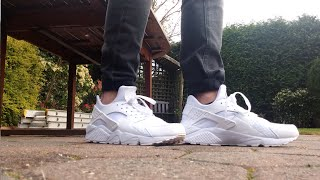 Nike Air Huarache Triple white Pure