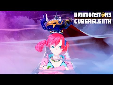 Digimon Story Cyber Sleuth - Gameplay Trailer   PS4, Vita