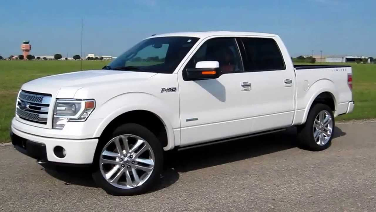In wheel time looks at the 2013 ford f 150 limited supercrew 4x4 youtube